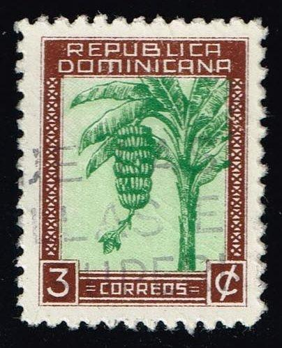 Dominican Rep. #389 Bananas; Used (0.25)
