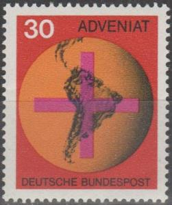 Germany #977 MNH F-VF (ST2500)