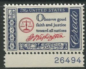 STAMP STATION PERTH USA #1139  MLH OG 1960  CV$0.25.