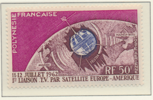 French Polynesia Stamp Scott #C-29, Mint Never Hinged - Free U.S. Shipping, F...