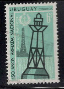 Uruguay Scott 761 Used Lighous Buoy stamp