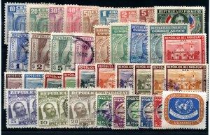 Paraguay - (37) Airmails       /        Lot 0121137