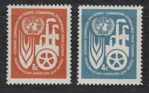 1959 UNO New York 78-79 UN ECONOMIC CENTER