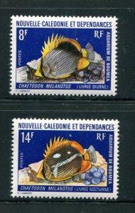New Caledonia #403-4 MNH
