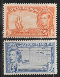 Cayman Islands  SC 114-15  Mint Never Hinged