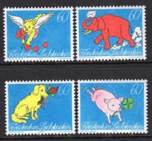 Liechtenstein 1025-1028 MNH VF