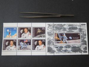 Marshall Island 1989 Sc 380 Folder space set MNH