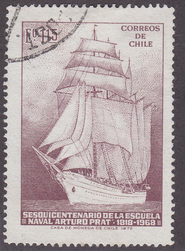 Chile 425 Arturo Pratt Naval Training School 1972