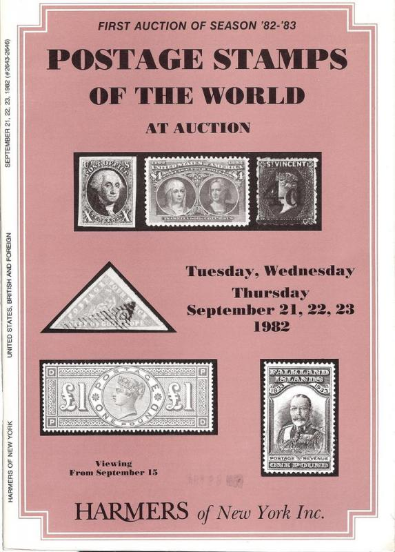 HR Harmer: Sale # 2643-2646  -  Postage Stamps of the Wor...