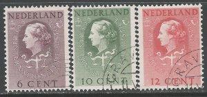 NETHERLANDS O33-O35 VFU Q981