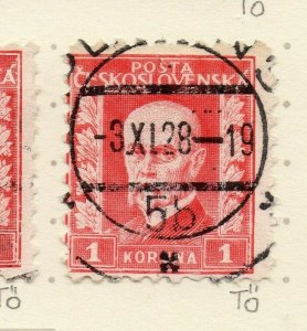 Czechoslovakia 1926-27 Issue Fine Used 1k. NW-148590
