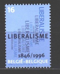 Belgium. 1996. 2680. Liberalism. MNH.
