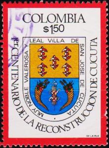 Colombia. 1976 1p50 S.G.1386 Fine Used