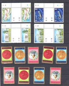 BRITISH COLONIAL BERMUDA 2 STOCK PAGES COLLECTION LOT OG NH U/M VF