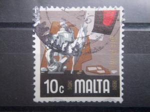 MALTA, 1973, used 10c, Charity, Scott 465