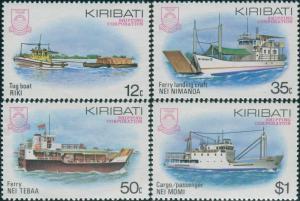 Kiribati 1984 SG219-222 Shipping set MNH
