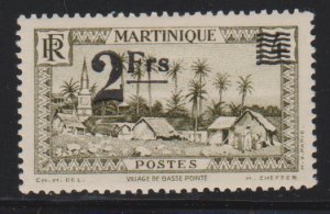 Martinique 191 mint hinged