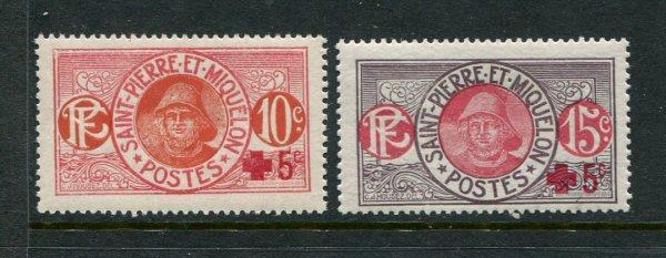 St Pierre #B1-2 Mint