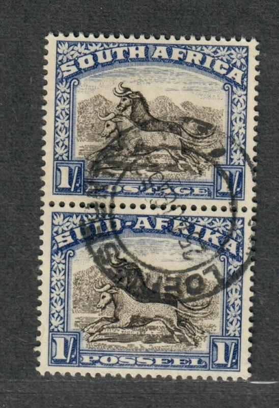 South Africa Sc#29 Used/VF, Pair, Cv. $87.50