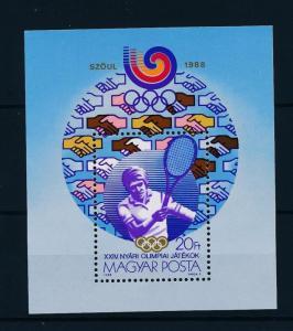 [46694] Hungary 1988 Olympic games Seoul Tennis MNH Sheet