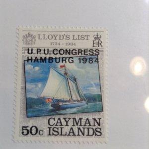 Cayman Islands  # 527  MNH