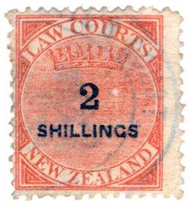 (I.B) New Zealand Revenue : Law Courts 2/-