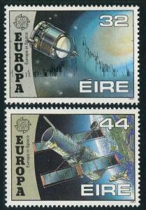Ireland 832-833,MNH.Michel 759-760. EUROPE CEPT-1991.Space research.