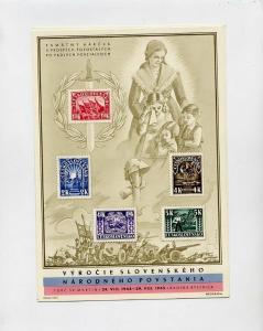 Czechoslovakia Stamps 10 # 288-92A Souvenir Sheets