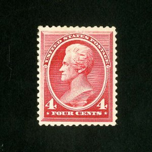 US Stamps # 215 XF Brite and fresh OG LH
