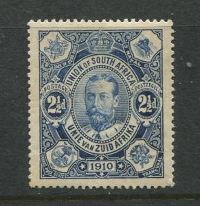South Africa - Scott 1 - KGV - 1910 - MNH - Single - 2.1/2d Stamp