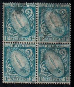 Ireland Scott 117 block Used (Catalog Value $170.00)