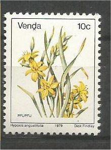 VENDA, 1979, MNH 10c, Flowers, Scott 14