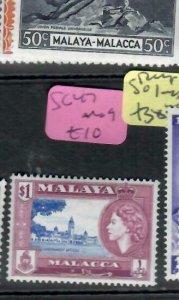 MALAYA  MALACCA    (PP1606B) QEII  SG 47   MOG