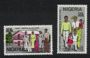 Nigeria Family Day 2v SG#446-447