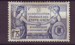 J16240 JLstamps 1937 france set of 1 mh #332