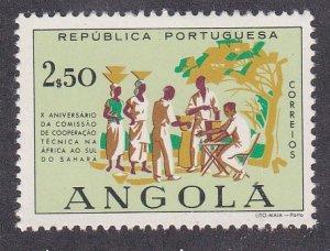 Angola # 418, Distributing Medicine, NH