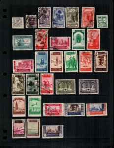 Spanish Morocco  31 diff Used and mint  hinged