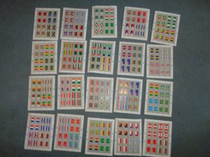 UNITED NATIONS FULL FLAG SHEET COLLECTION, MNH, OG