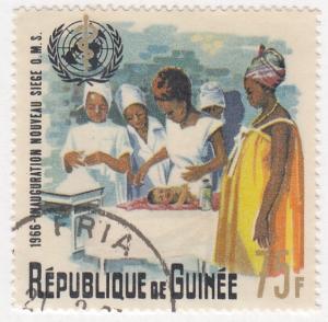 Guinea, Scott # Unk (1), Used, 1966, Medical