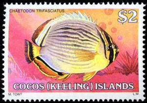 Cocos Islands #34-50, Complete Set(17), Never Hinged