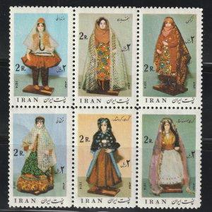Persia/Iran stamp, Scott# 1804A,  MNH, block of four, #1804A