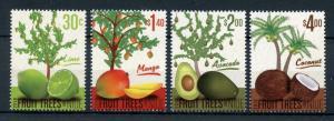 Niue 2018 MNH Fruit Trees Mango Coconut Avocado 4v Set Fruits Nature Stamps