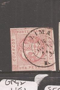 Peru SC10b Lima SON CDS VFU (6axw)