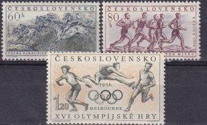 Czechoslovakia #763-5 MNH CV $7.50 (Z4244)