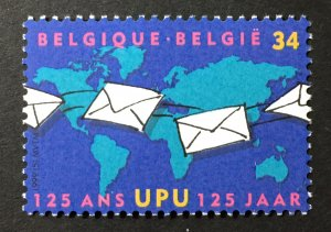 Belgium 1999 #1733 UPU, MNH, CV $2.25