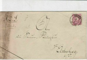 germany 1881 stamps cover ref 21059