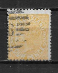 Queensland 94 1890-92 4d Used (z2)