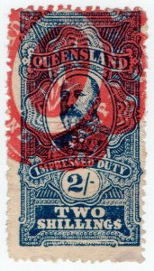 (I.B) Australia - Queensland Revenue : Impressed Duty 2/-