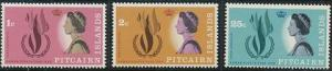 Pitcairn Islands 88-90 MNH (1968)