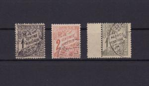 TUNISIA POSTAGE DUES  USED STAMPS ,CAT £70+ REF R1132